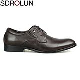 Giày buộc dây công sở Valentine nhập khẩu cao cấp Màu nâu sang trọng Mã BD08160-2N