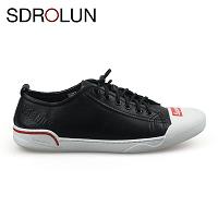 Giày buộc dây màu đen đế trắng phong cách thời trang 2019; Mã số BD3287D