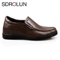 Giày cao nam nhập khâu luxury quý phái màu nâu lịch lãm 2018; Mã số GCWS88824N