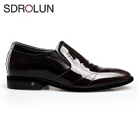 Giày da đế cao 6,5 cm phong cách Hàn mới GC41842N