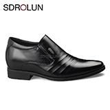 Giày lười công sở nâng đế 6 Cm hiệu Sdrolun Nhập khẩu Mã GCD230-25D