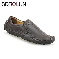 Giày nam cổ điển màu nâu phong trần; MS GL3703n
