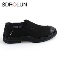 Giày nam sang chảnh màu đen lịch lãm 2019; Mã số GL80307D